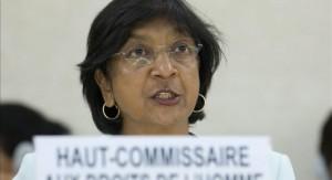 Navi Pillay, la Alta Comisionada de la ONU Foto: EFE