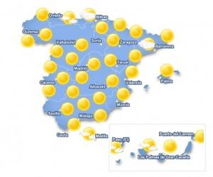 Se anuncia una semana veraniega. www.eltiempo24.es.