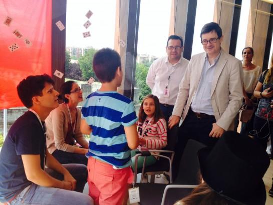 Comienza Campus Promete Navarra en Baluarte para talento de niños y jóvenes