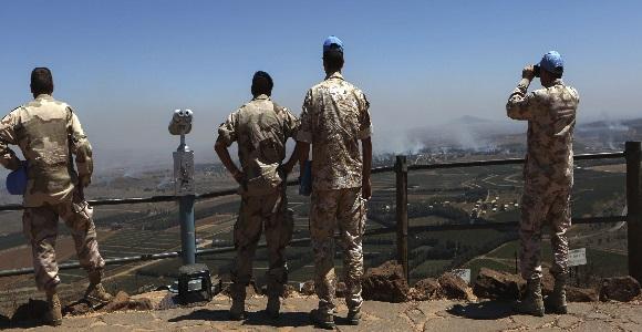 Secuestran a 43 cascos azules de la ONU en Altos del Golán