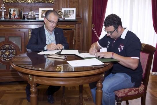 Convenio de DYA y Ayuntamiento de Pamplona para protección civil