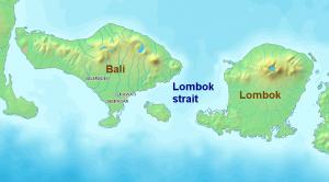 islas indonesias de Lombok y Komodo