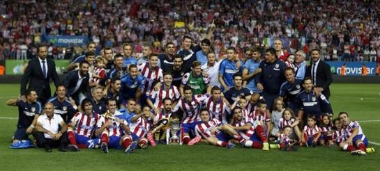 El Atletico se hace fuerte en el Calderón y logra la Supercopa de España