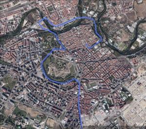 Afectadas varias calles por la llegada de la Vuelta