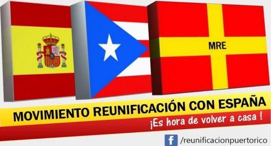 Registrado el Movimiento de Reunificación de Puerto Rico con España