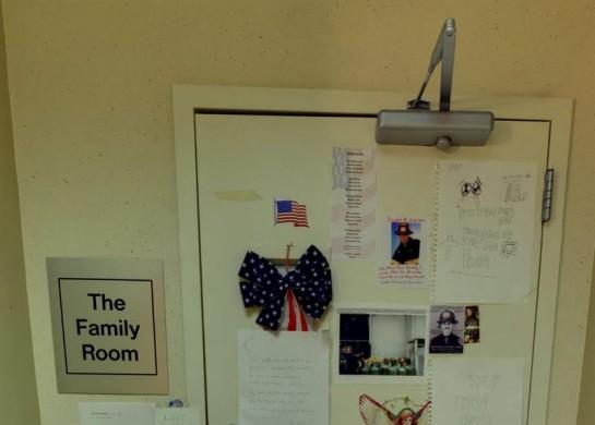 El santuario privado de las familias del 11-S abre por vez primera al público