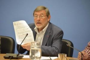 Jaime Lissavezky, portavoz socialista en el Ayuntamiento de Madrid. EL MUNDO.