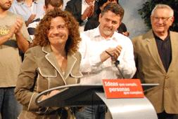 Amanda Acedo aspira a las primarias del PSN