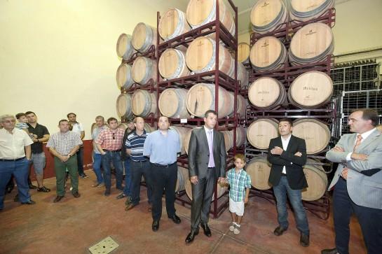 """Bodegas San Martín de Navarra cumple 100 años de """"vino"""""""