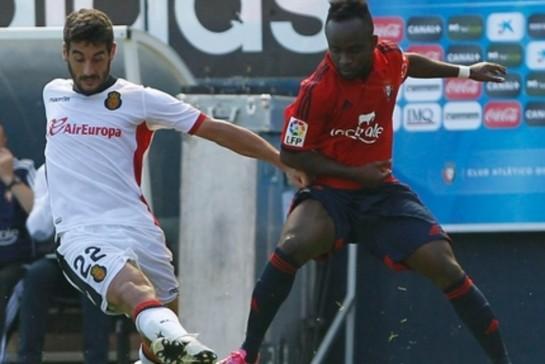 6-4: Espectacular remontada de Osasuna con festín goleador con Cedrick como revulsivo