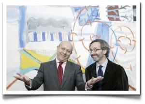 El ministro de Cultura, José Ignacio Wert y el secretario de Estado de Cultura, José María Lassalle