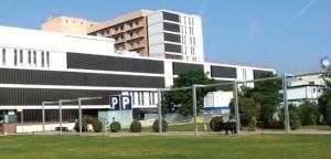 Hospital Parc Taulí de Sabadell, donde han sido ingresados varios afectados por legionela.