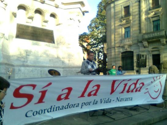 Los obispos apoyan la manifestación en contra de la retirada de la reforma del aborto