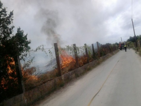 Estabilizado el incendio de Jávea