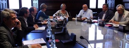 El Parlamento catalán pedirá el levantamiento de la suspensión de la ley consultas
