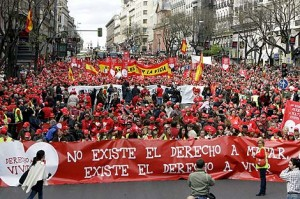 Manifestación DAV