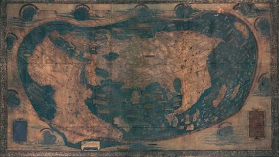Mapa de Colón oculta un secreto