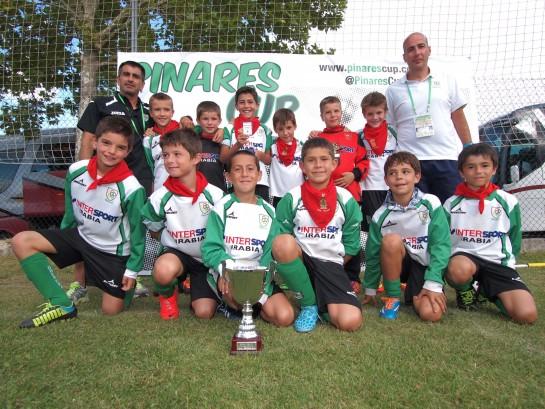 El Oberena de Pamplona en categoría Benjamín ganan la III Pinares Cup