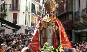 Procesión de San Fermín de Aldapa. (D. Navarra).