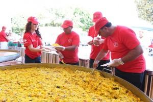 Navarra disfrutará de paella, marmitako y dulces típicos con La Vuelta y Carrefour