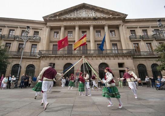 El Paloteado de Cortes será declarado Bien de Interés Cultural de Navarra