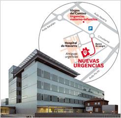 El 8 de octubre se abrirá el nuevo centro de atención de urgencias en el Complejo Hospitalario de Navarra