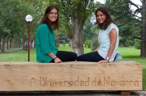 Ana Escauriaza Escudero (izda) y María Sonsoles Callejo Goena (dcha)