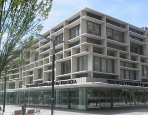 Fachada de la biblioteca. http://www.bibliotecaspublicas.es/navarra