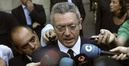 Gallardón alimenta la idea de su posible dimisión: