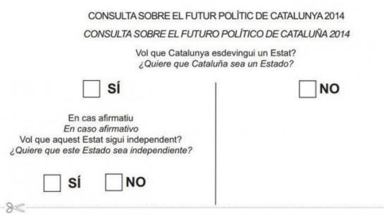 El Gobierno catalán encarga 10.800 urnas y más de seis millones de papeletas para la consulta del 9-N