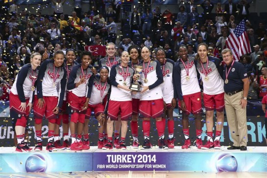 La selección femenina estadounidense está en otro nivel. EFE.