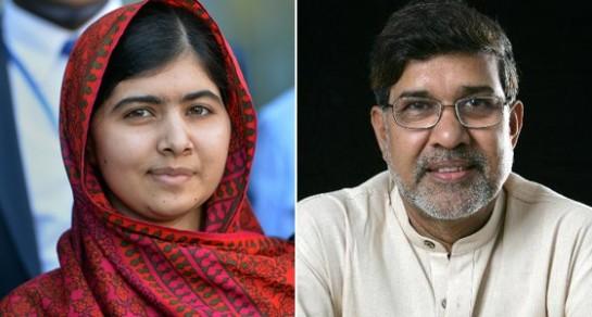 Malala Yousafzai y Kalaish Satyarthi, ganadores del Premio Nobel de la Paz