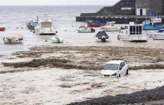 Santa Cruz valora en 15 millones de euros los daños por el temporal y las acciones para prevenir otros