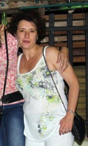 La auxiliar de enfermería Teresa Romero.
