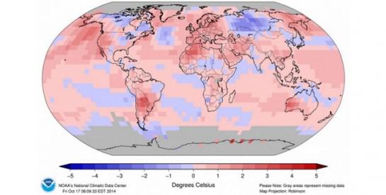 El año 2014 va camino de ser el más caluroso de la historia en todo el planeta Tierra