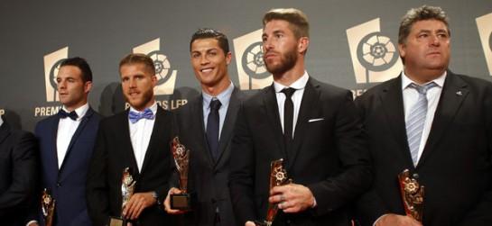 Imagen de varios de los premiados. (Foto: Marca).
