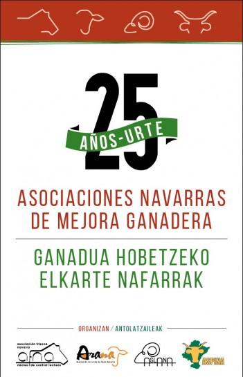 Las asociaciones navarras de mejora ganadera celebran su 25 aniversario