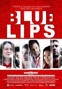 Cartel de 'Blue lips', de Maitena Muruzabal y Candela Figueira.