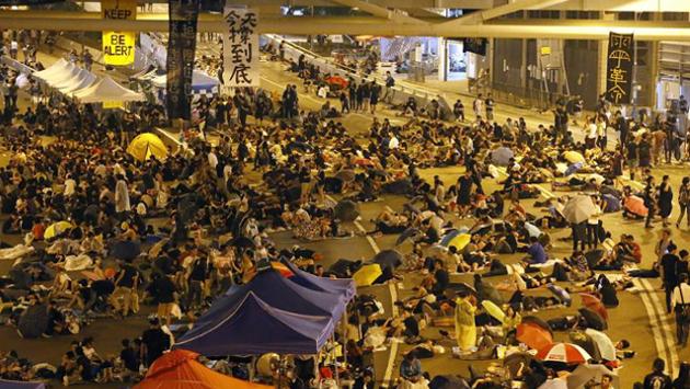 La oposición democrática en Hong Kong se prepara para alargar la protesta social
