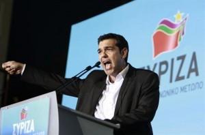 Alexis Tsipras, lídel del partido Syriza
