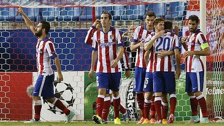 """El Atlético resucita en la """"Champions"""" con una victoria frente a La Juventus"""