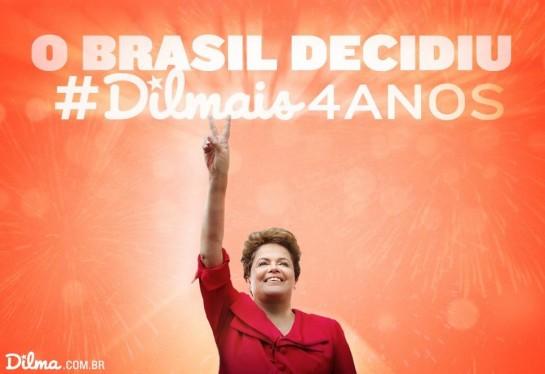 La presidenta Dilma Rousseff gana las elecciones y seguirá al frente de Brasil hasta 2018