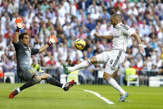 Real Madrid 3 Barcelona 1: Festival blanco
