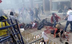 Caos y muerte en maratón de Boston