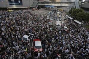 Crece la tensión en Hong Kong