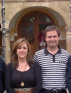 Nieves Ciprés, presidenta de DNE y Andrés Valencia, secretario general, Foto: DNE