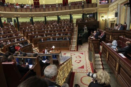 El Congreso rechaza las doce enmiendas de totalidad a los Presupuestos de 2015 con el voto de PP y UPN