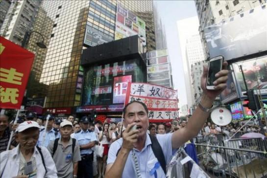 El Gobierno de Hong Kong anula el diálogo con los manifestantes