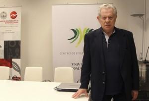 El miembro de la Academia de las Letras Brasileñas, Arnaldo Niskier