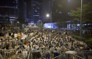 El movimiento Occupy-Central lanza unacampaña de desobediencia civil en Hong-Kong